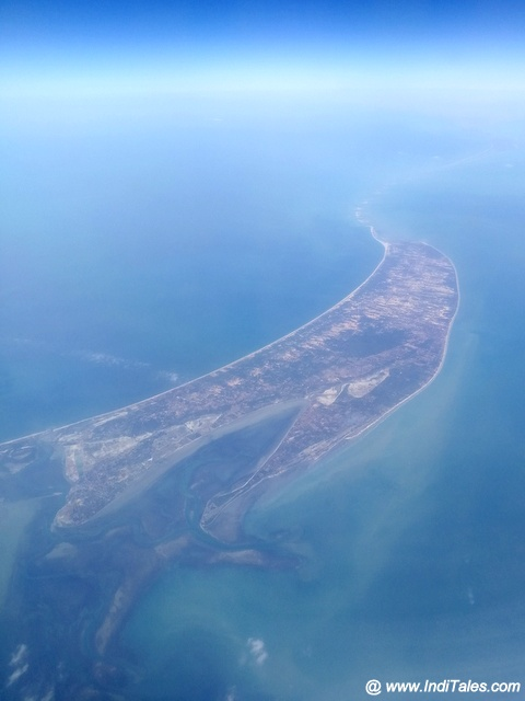 Ram Setu - Adam's Bridge Aerial View
