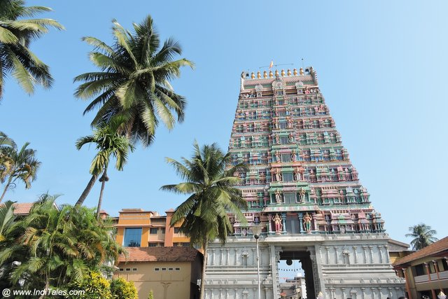 Gopuram of Sharadamba Temple - Sringeri