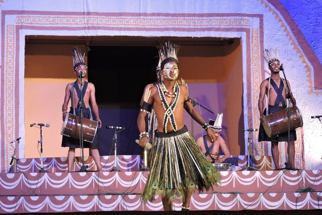 A Tribal performance during Lokotsav