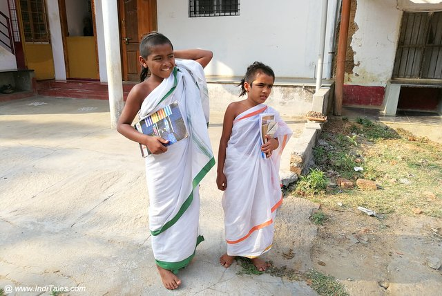 Young Students of Sanskrit & Scriptures