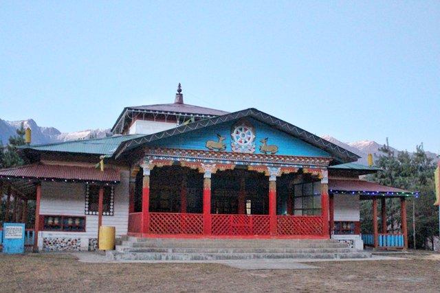 Dzogchen SamtenChoeling Monastery, Mechuka