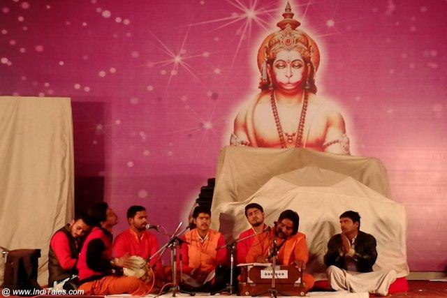 Keertan at Kumbh Mela, Prayagraj