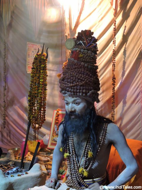 Naga Sadhu at Kumbh Mela Prayagraj