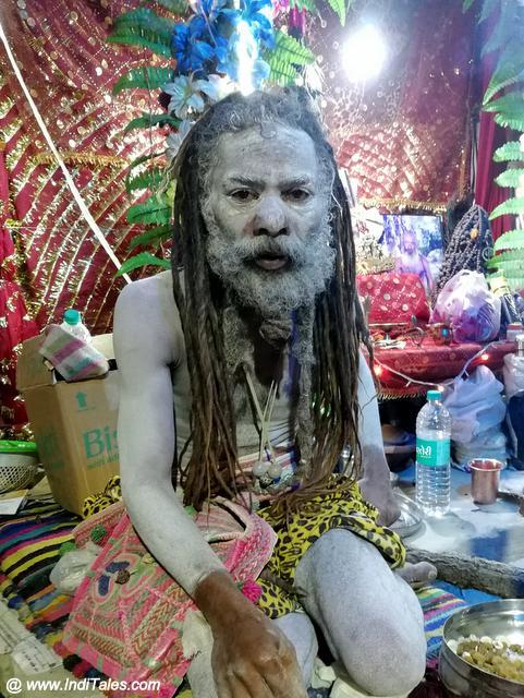 Naga Sadhu at the Kumbh Mela 2019, Prayagraj