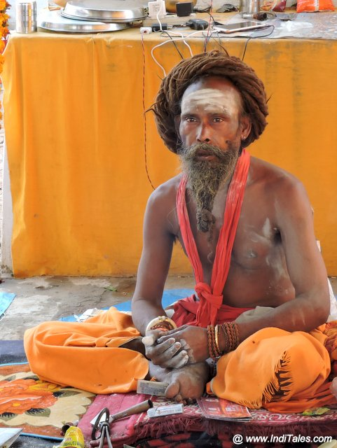 A Sadhu at the Mela - Prayagraj