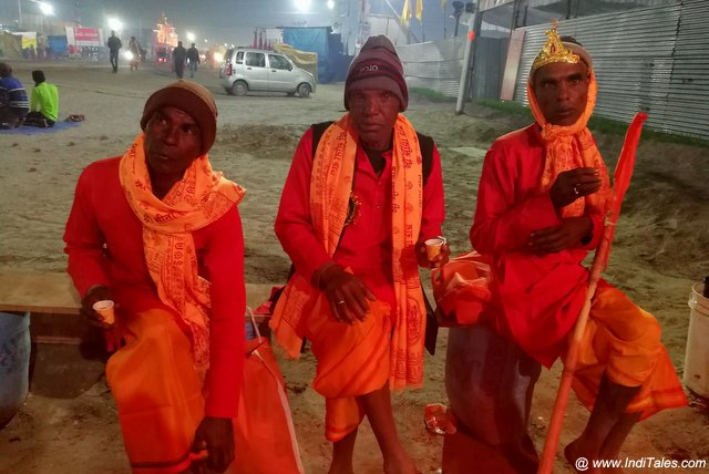 Sadhus at Prayagraj