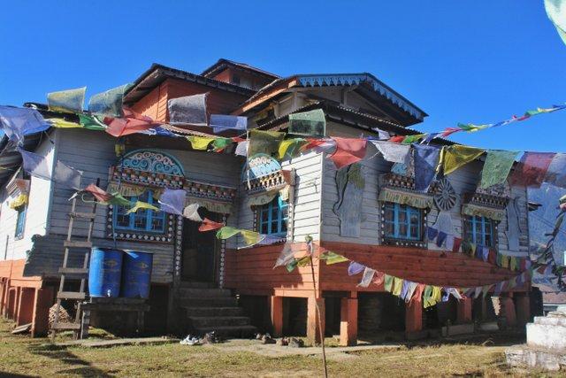 Samten Yongcha Monastery, Mechuka, Arunachal