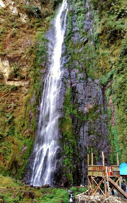 Siko Dido Waterfalls near Mechuka