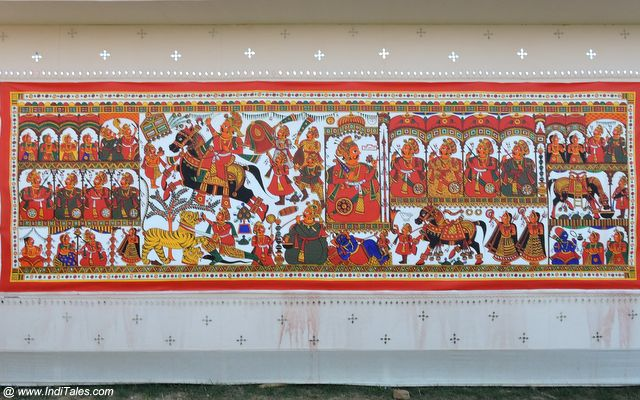 Folk Art at Prayagraj