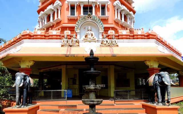 Adi Shankara Keerthi Stambh Mandapa at Kalady