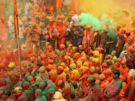 Colors of Holi Festival - Mathura Vrindavan