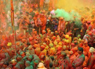 Colors of Holi Festival - Mathura Vrindavan
