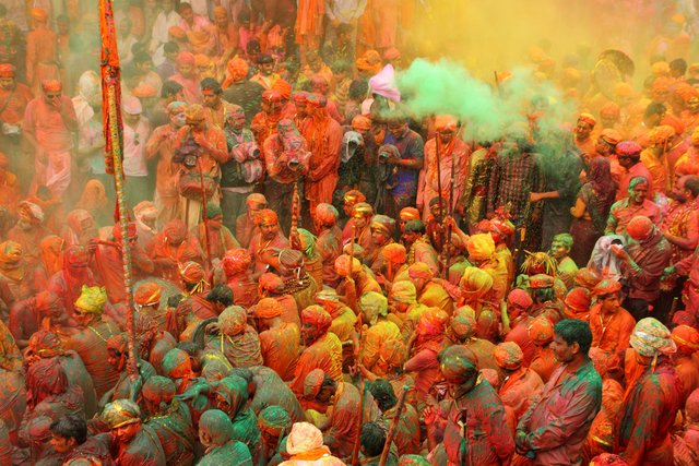 Colors of Holi - Mathura Vrindavan