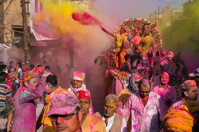 Holi Dola of Mathura
