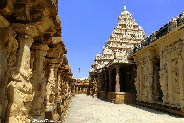 The Temple corridor