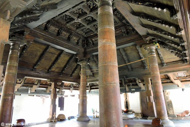 Wooden Mandapa of Nayathodu Sankara Narayana Temple