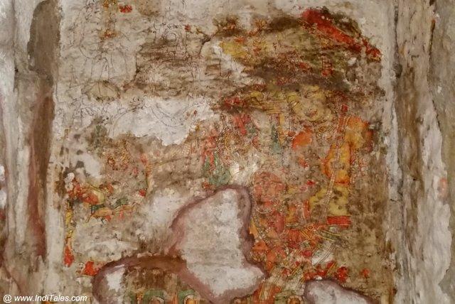 Shiva Parvati heritage painting