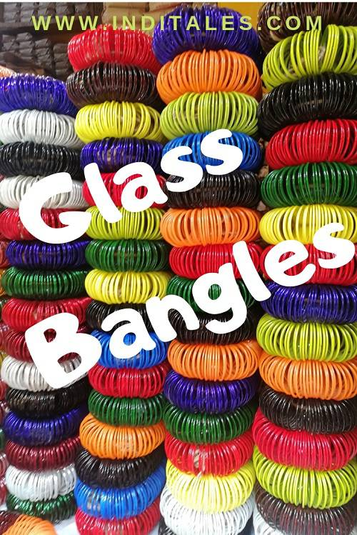 Colorful Glass Bangles - Firozabad