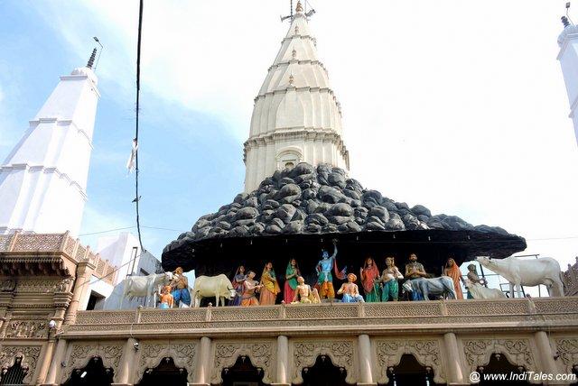 Daanghati Mandir at Govardhan
