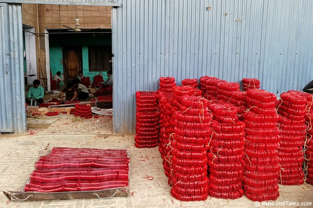 Glass Bangles Manufacturing Unit - Firozabad