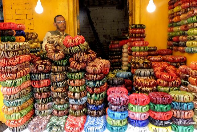 Glass Bangles Shop in Bohran Gali in Firozabad