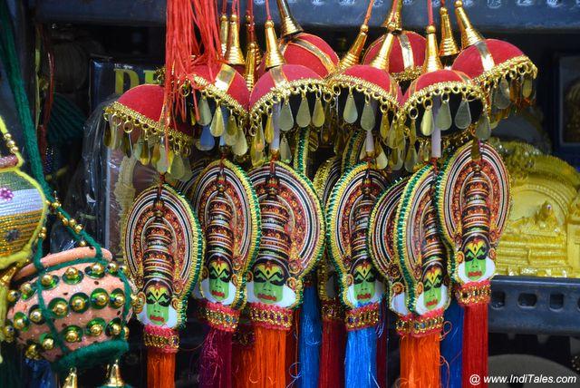 Miniature Kathakali Masks