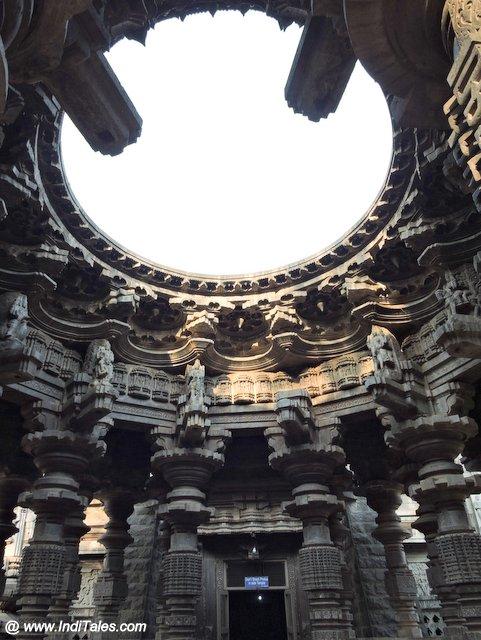 12 Deities on 12 Pillars of Swarga Mandap - Kopeshwar Temple