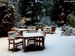 Snow Clad Whistler Landscape