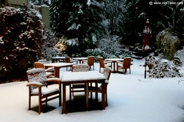 Snow Clad Landscape of Whistler, Vancouver BC