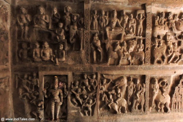 Story Telling Wall Panels - Vaikuntha Perumal Temple Kanchipuram