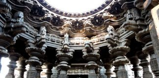 Swarg Mandap - the stunning architecture of Kopeshwar Mahadev Temple