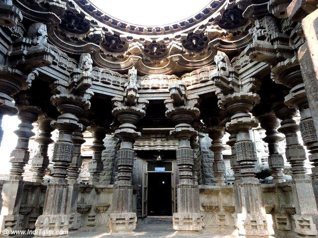 Swarg Mandap - the stunning architecture of Kopeshwar Mahadev Temple