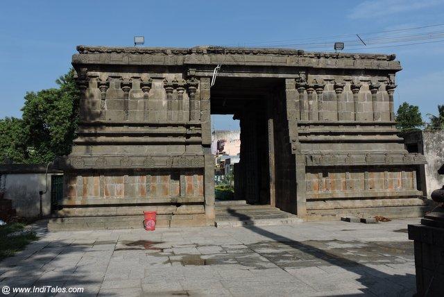 Gopuram of Vaikuntha Perumal Temple in Kanchipuram