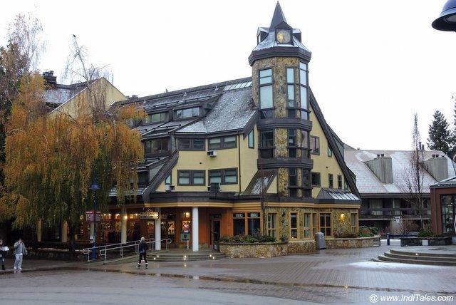 Village Square scene