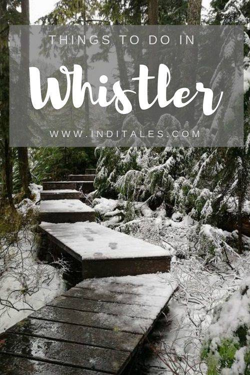 Snow-clad Whistler