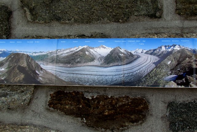 Aletsch Overview Placard