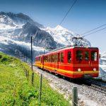 Train to Jungfrau Mountain - Switzerland
