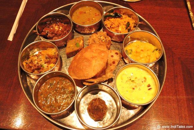 महाराष्ट्र की शाकाहारी थाली