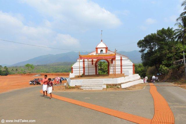 Arch of Mallikarjuna Temple Canacona