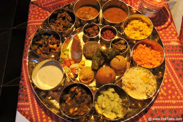 Rajasthani Thali - Richest Indian Thali