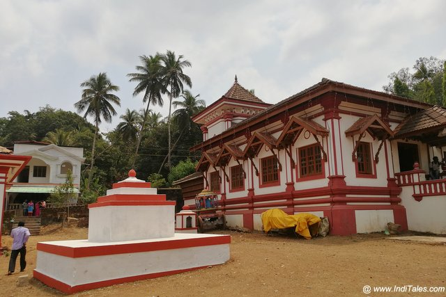 Small Temples on the campus
