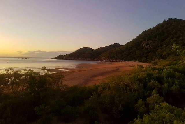 Landscape view of Magnetic Island