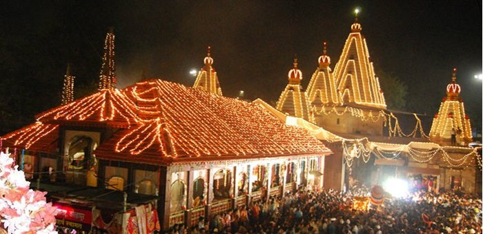 Navratri Celebrations at Mahalakshmi Temple Kolhapur