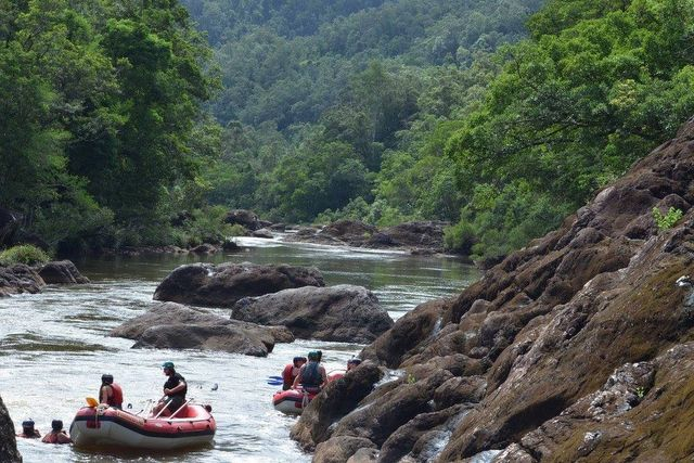 River rafting at Tully Gorge, North Queensland