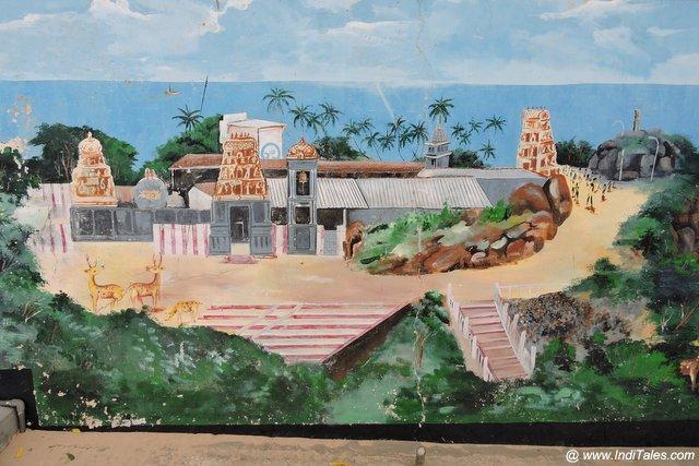 त्रिंकोमाली के मंदिर का परिचित्र