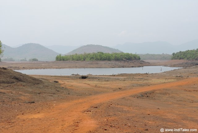 First view of the catchment area of Salaulim Dam in Goa