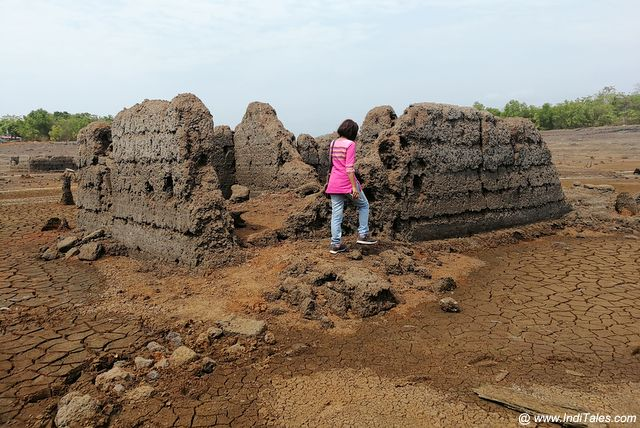 Ruins of Curdi Village in Goa