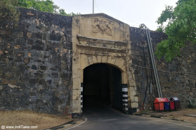 Fort Fredrick - Places to visit in Trincomalee