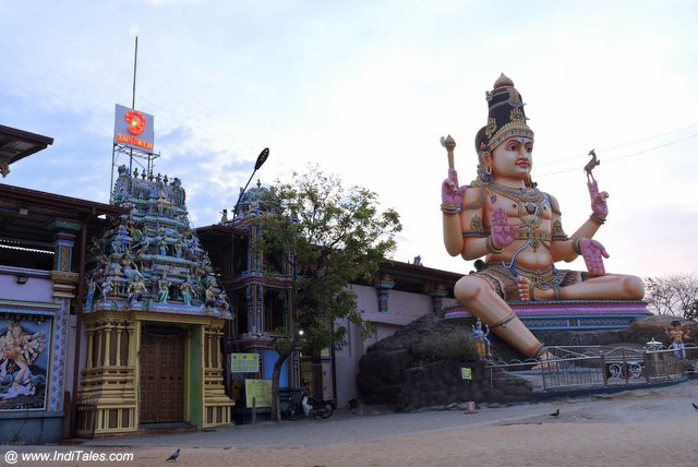 थिरुकोनेश्वर मंदिर - स्वामी पठार पर