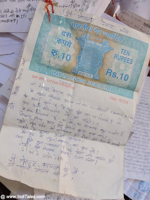 Letters to the Lord of Justice at Almora